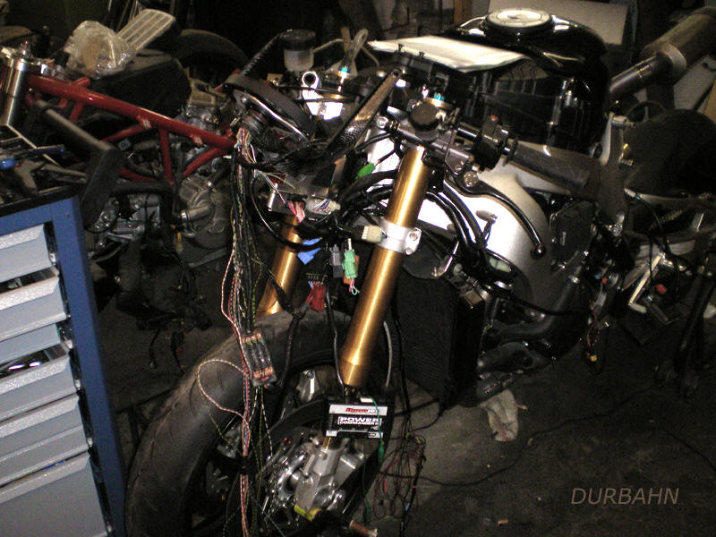 CBR1000 RR -special Parts from Germany